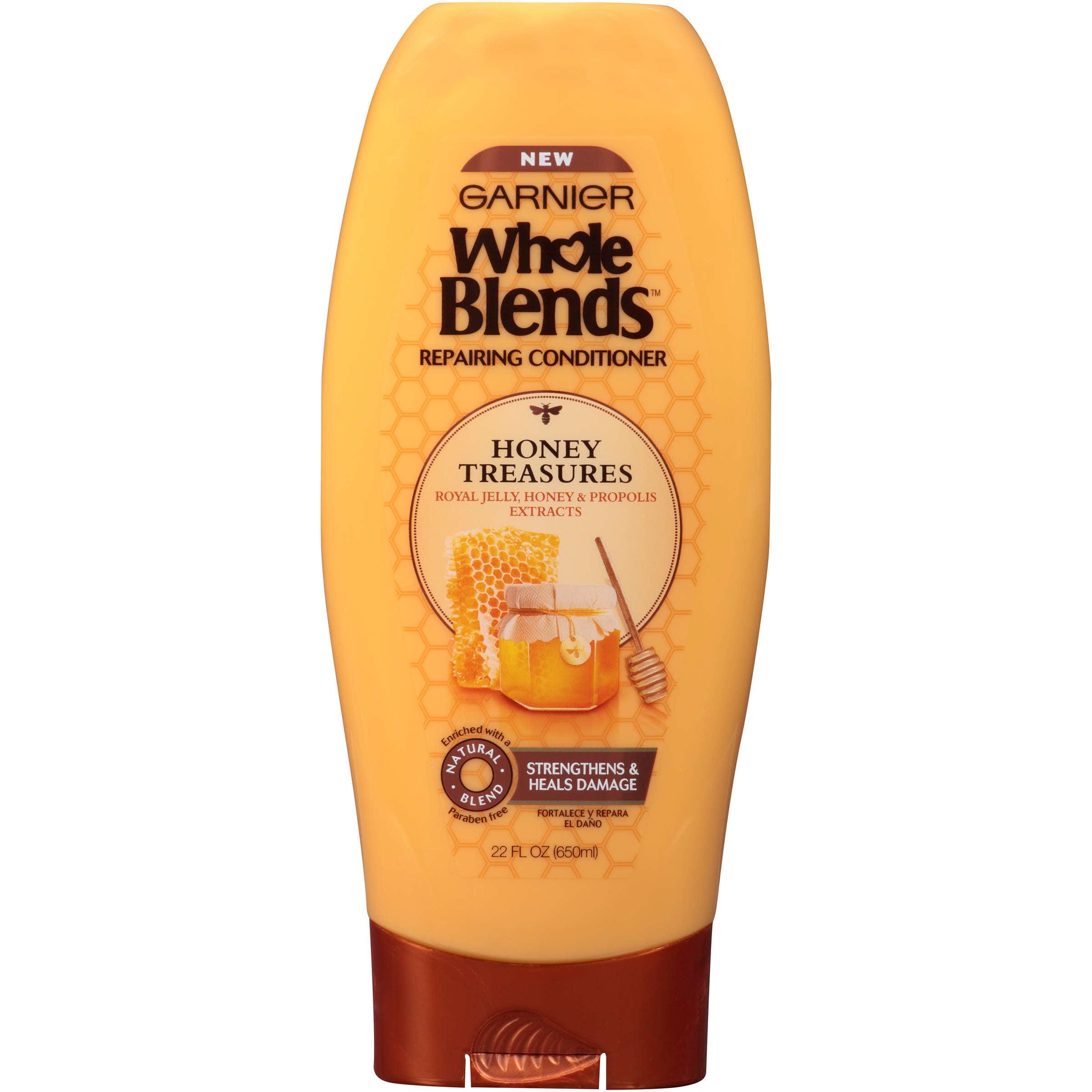 Garnier Whole Blends Repairing Conditioner Honey Treasures 22 FL OZ