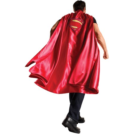 Deluxe Superman Cape Adult Halloween Costume - Halloween Running Man