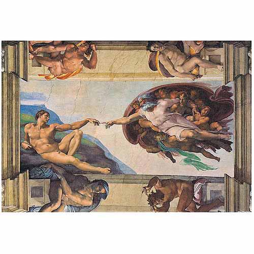Michaelangelo Creation of Adam Puzzle, 1000 pcs