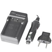 Individual Charger for Sony A3000, A5000, A33, A35, A37, A55, A390, NEX-3, NEX-5, NEX-6, and NEX-7 (Charges NP-FW50 and Casio NP-120 batteries)