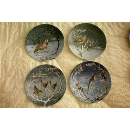 Haviland Limoges Twelve Days of Christmas Collector Plate Set (12 Plates)