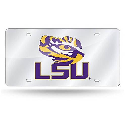 NCAA LSU Laser Tag License Plate
