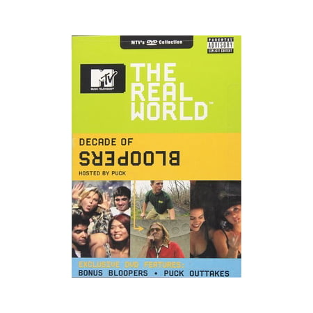 MTV Real World: Decade of Bloopers (DVD) (Community Halloween Bloopers)