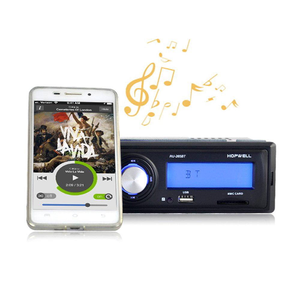 Digital Bluetooth Car MP3 Player Radio Stereo Car Audio M...
