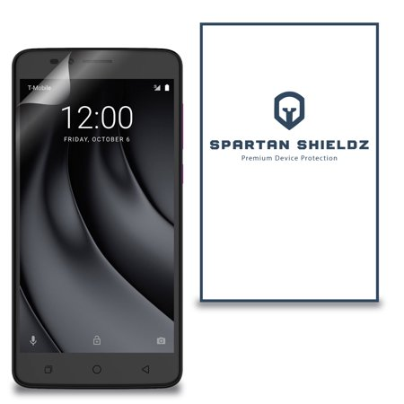 6X - Spartan Shield Premium HD Screen Protector For T-Mobile Revvl Plus - 6X - Spartan Shield Design