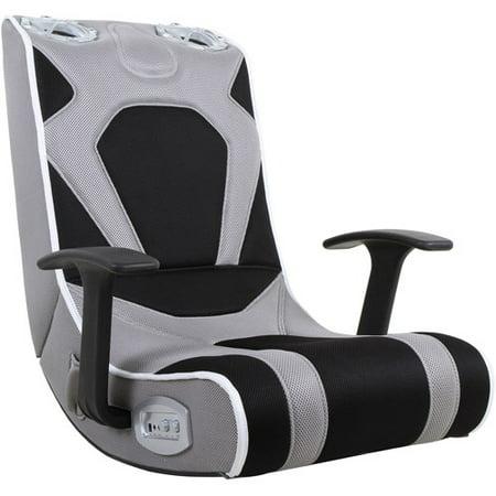 Gaming Chair Grey Black Walmart Com