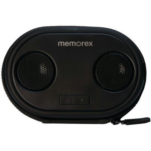 ML310BK Portable Speaker Case, Speaker Case For IPhone, IPod And Android  Devices By Memorex