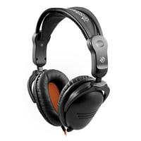 SteelSeries 3Hv2 Gaming Headset for PC, Mac, Tablets and Smartphones - Black/Orange (Refurbished)