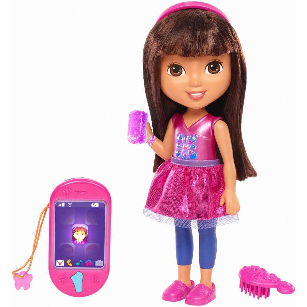 Dora and Friends Talking Dora and Smartphone by FISHER PRICE
