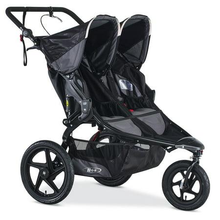 BOB® Revolution® PRO Duallie Jogging Stroller, Black