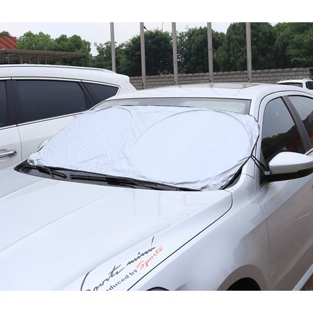 Fordawn Windshield Sun Shade - for Maximum UV and Sun Protection –Foldable Sunshade for car Windshield Will Keep Your car Cooler- Windshield Sunshade (Large) - image 1 de 9