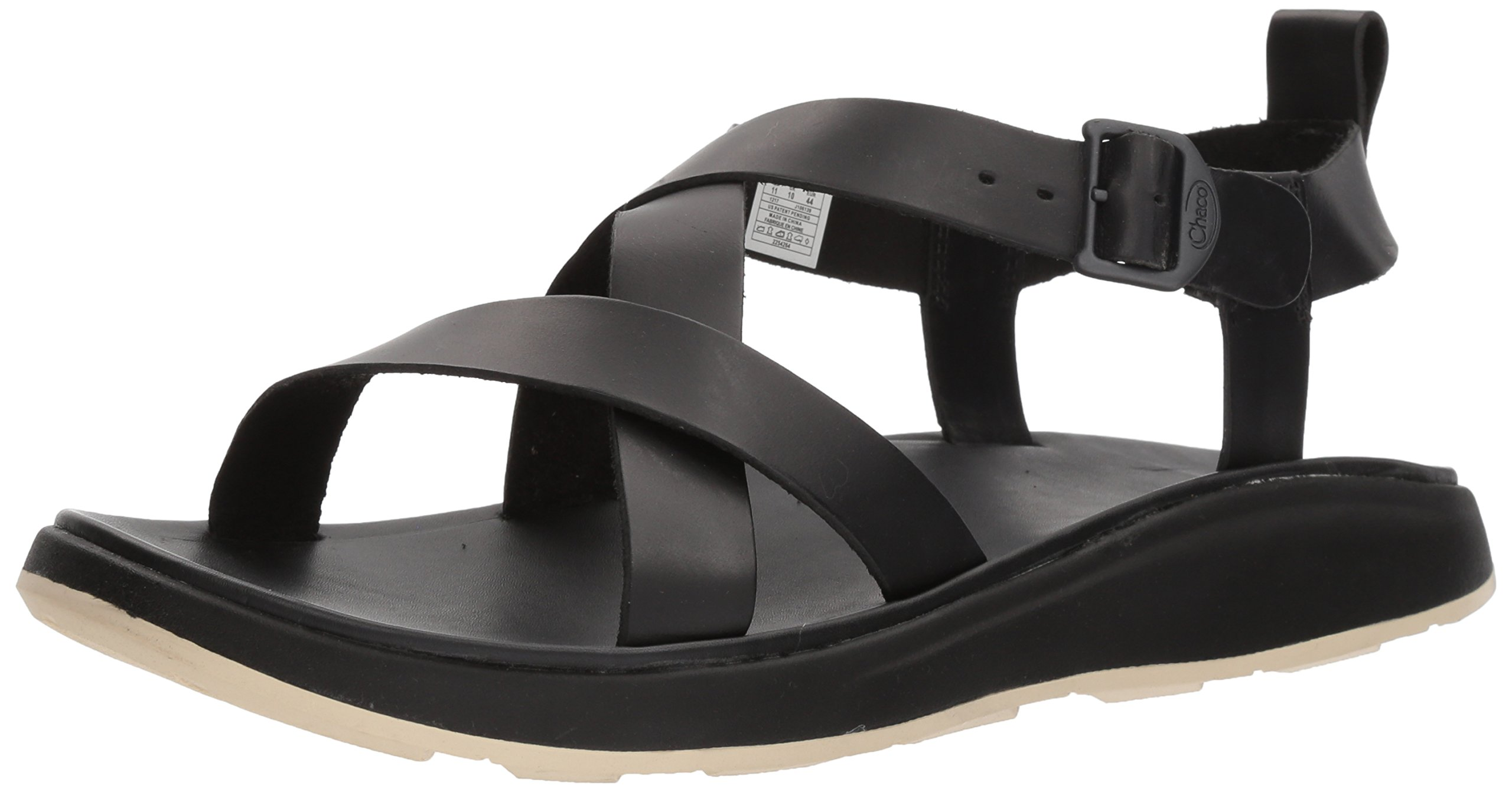 Chaco Men's Wayfarer Sandal, Black, 9 Medium US by Chaco