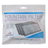 Pioneer Replacement Filters for Plastic Raindrop and Fung Shui Fountains 3 Pack - Pack of 2