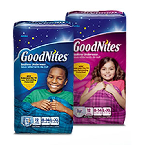 Youth Underwear GoodNites Pull On Small/MED Moderate Absorbency-Case of 56