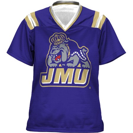 James Madison University Lithograph (ProSphere Women's James Madison University Goal Line Football Fan Jersey)