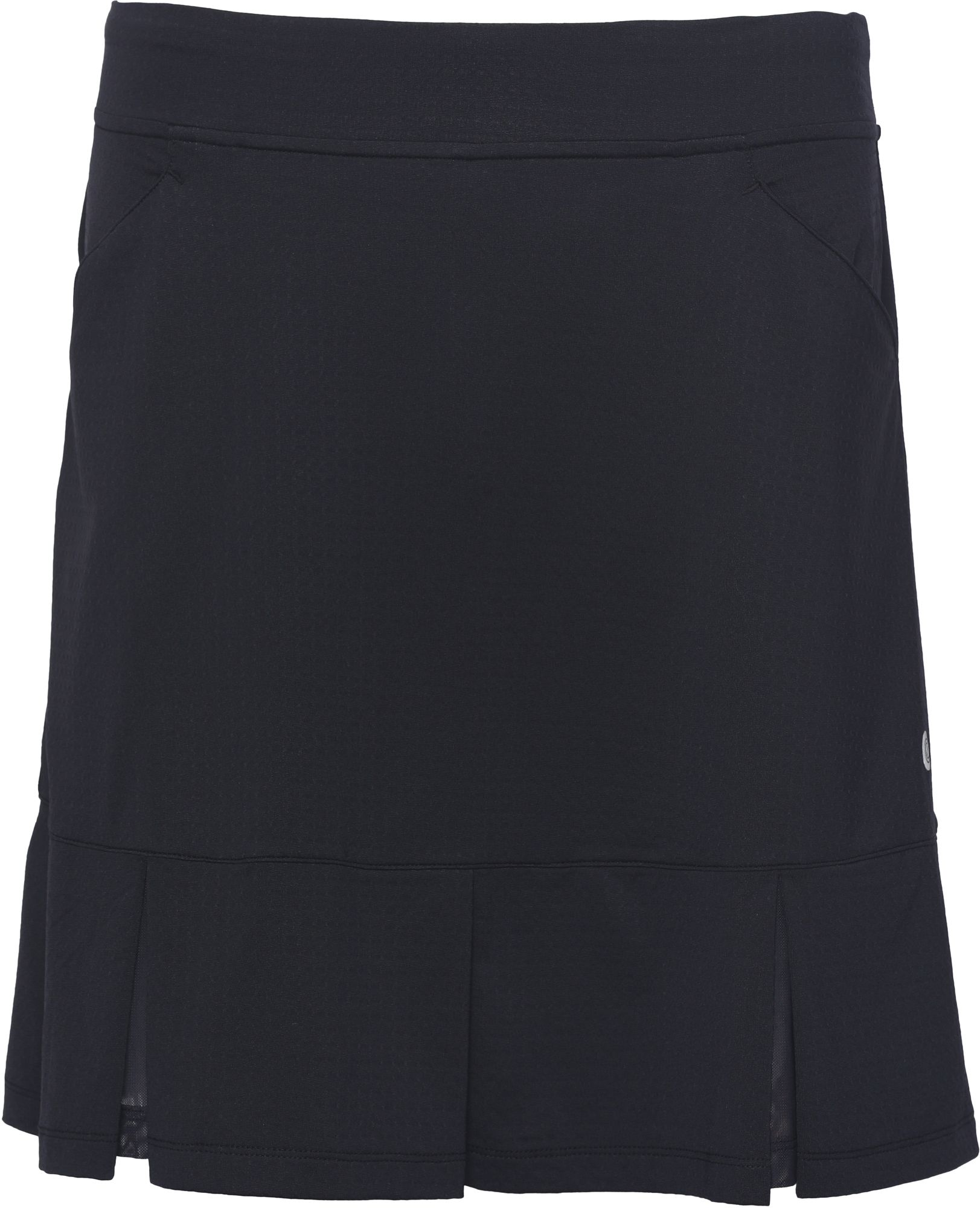 Bette /& Court Womens Twirl Pull On Skirt with Pockets and Mesh Box Pleats