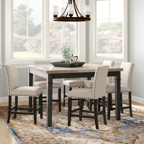 Darby Home Co Irena 7 Piece Dining Set