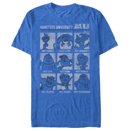 Monsters Inc Men's MU Yearbook T-Shirt](Sully Outfit Monsters Inc)