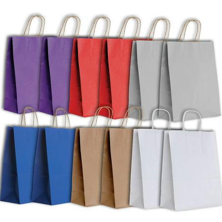 Jillson   Roberts Eco Friendly Kraft Large Gift Bag Assortment  12 Bags