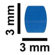 BEL-ART - SCIENCEWARE F371210018 STIR BAR, PTFE, FLEA MICRO, BLUE, 3X3MM