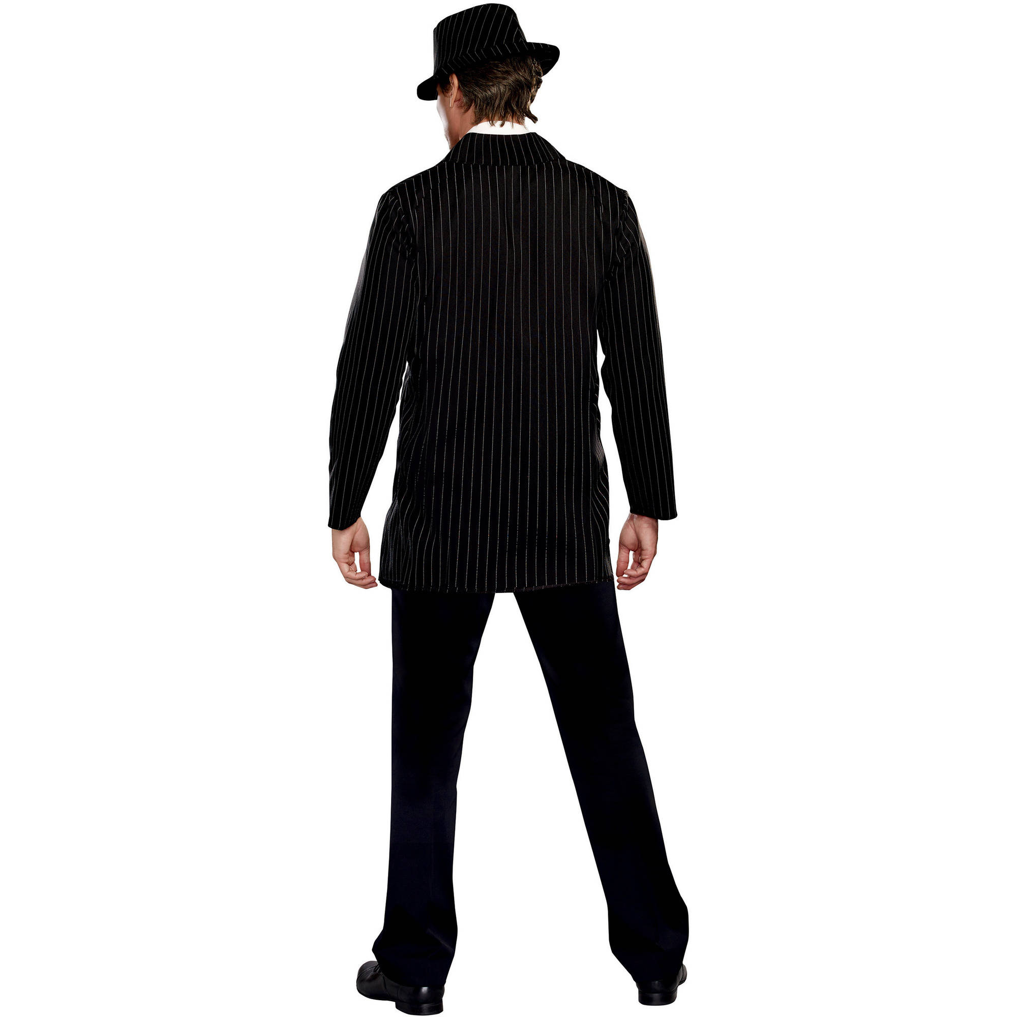 Gangster Guy Adult Mens Halloween Costume Walmartcom