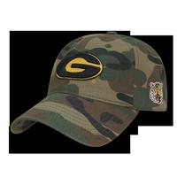 NCAA Grambling State Tigers U Relaxed Camo Camouflage Baseball Caps Hats