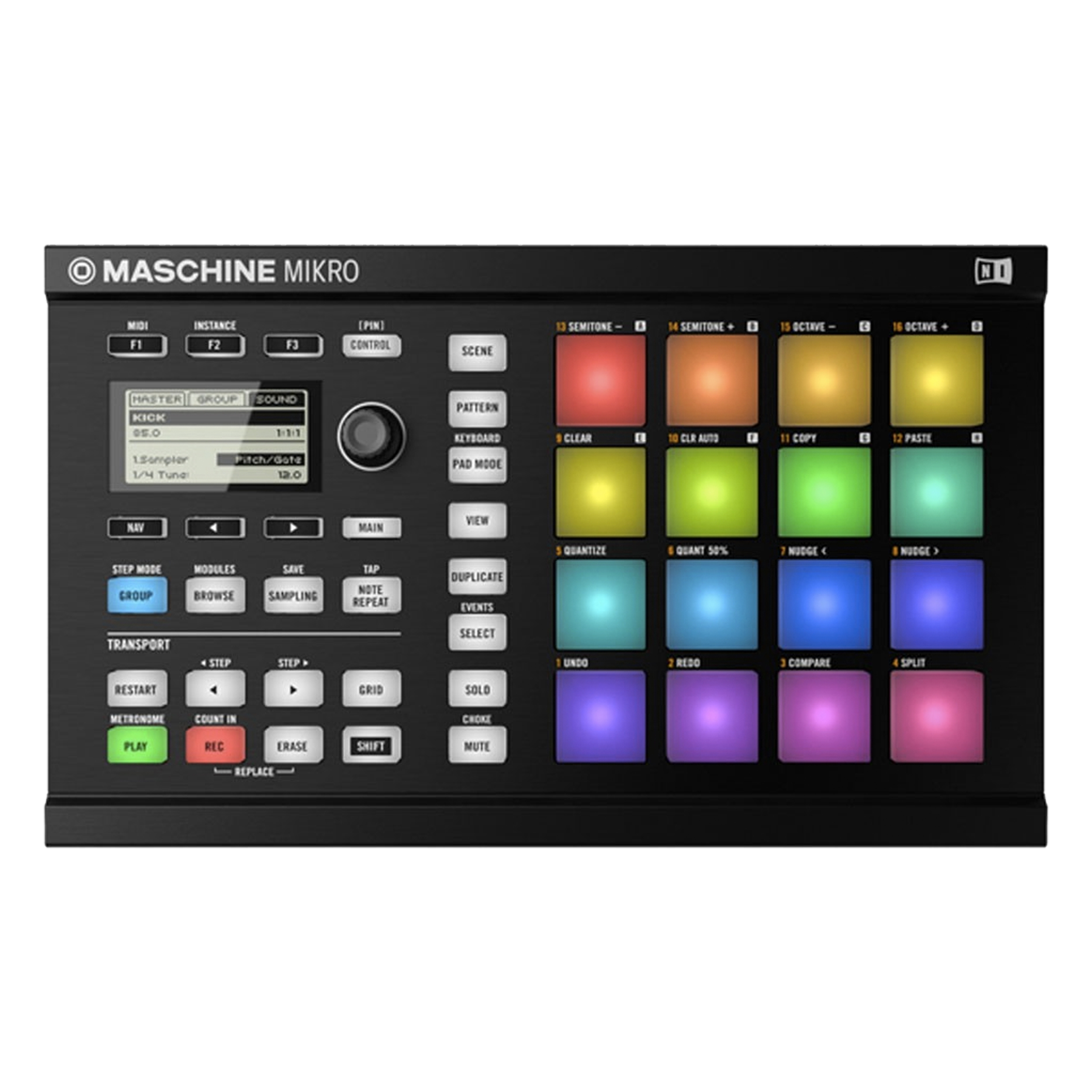 Native Instruments MASCHINE Mikro MK2 in Black by Native Instruments