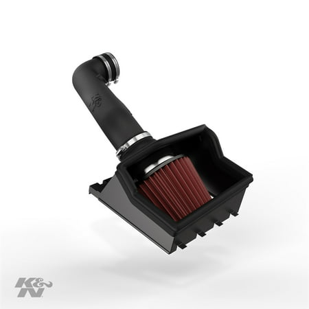 K&N Cold Air Intake Kit: High Performance, Guaranteed to Increase Horsepower: 50-State Legal: 2011-2014 Ford F150, 5.0L V857-2581