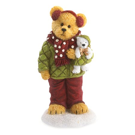 Boyds Bears Haley Goodfriend with Berg All Bundled Up Bear Christmas - Boyds Bears Angels