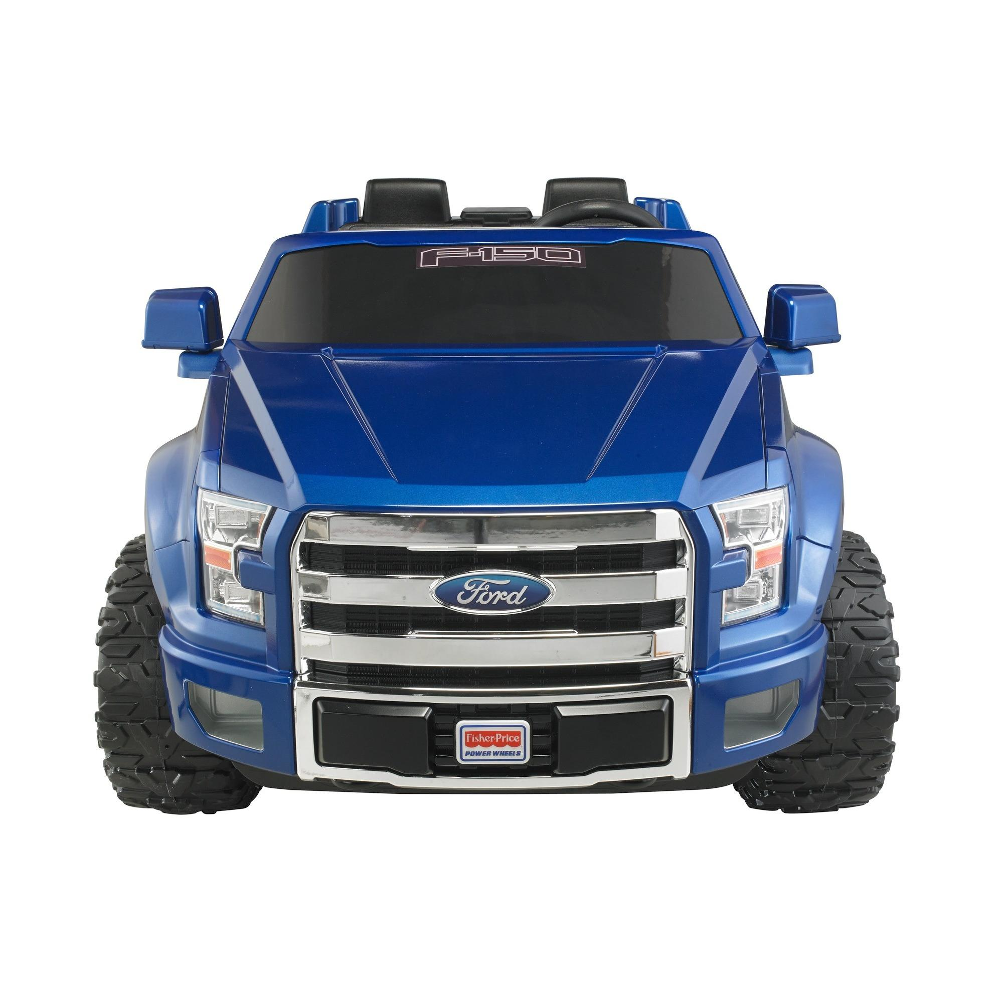 Power wheels ford f 150 12 volt battery powered ride on walmart fandeluxe Gallery