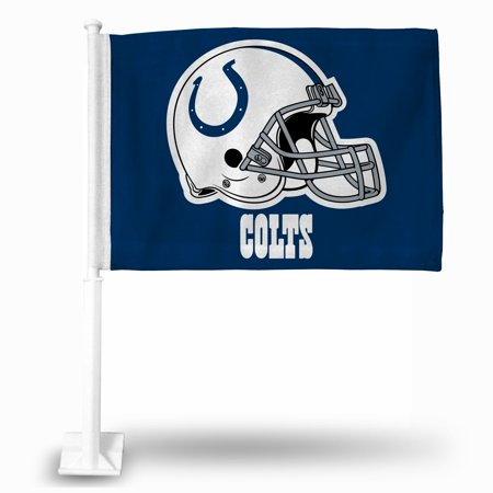 Official NFL Indianapolis Colts Car Flag