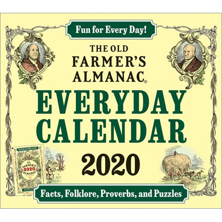 The 2020 Old Farmer's Almanac Everyday Box