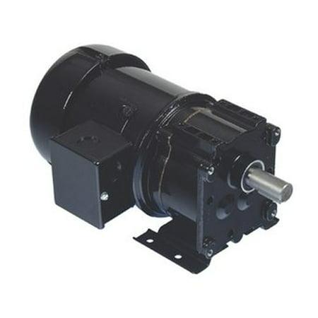 Bison Model 017-247-0058 Inverter Duty Gear Motor 30 RPM 1/4 hp 230V (Inverter Duty Motor Insulation Class)