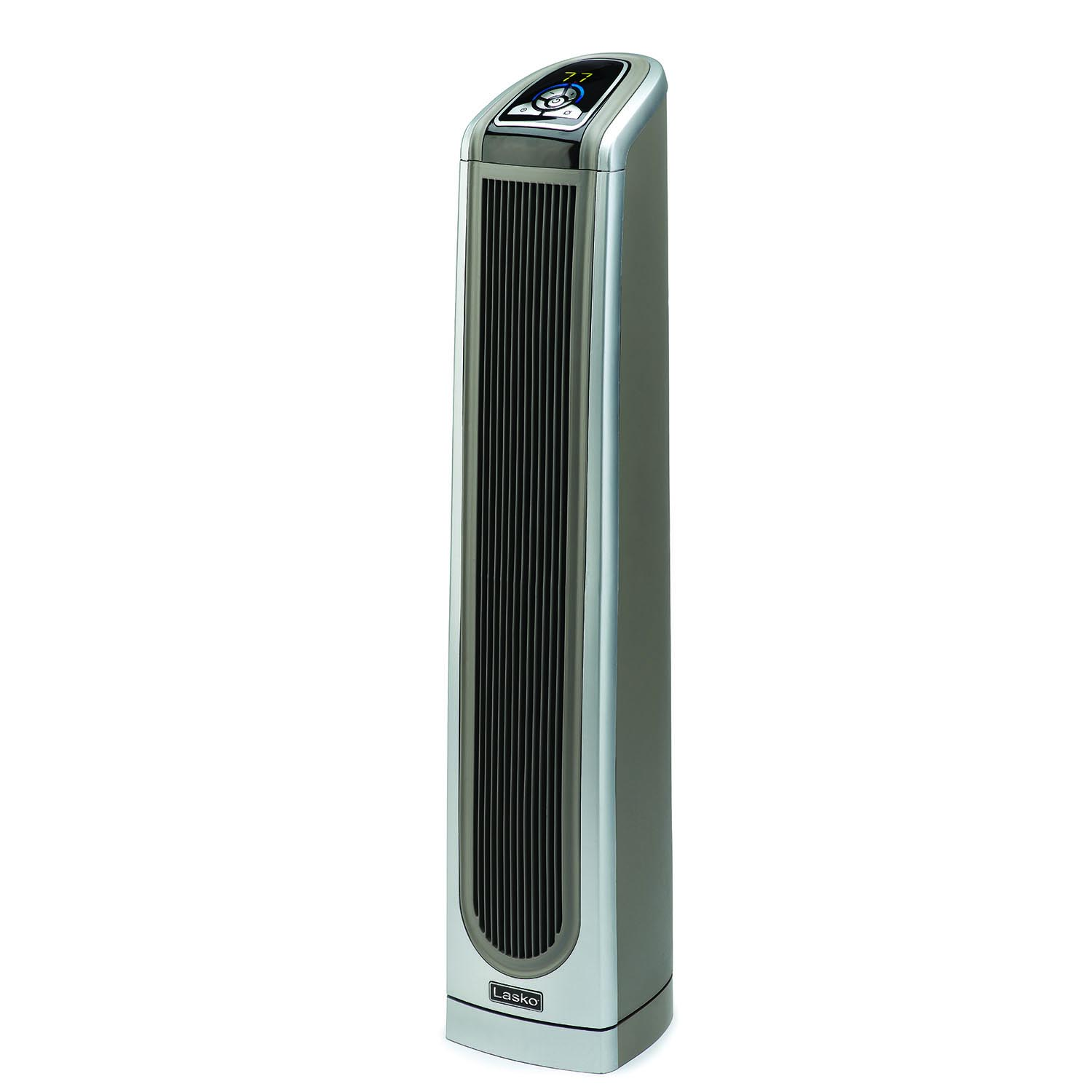 Lasko 5588 Electronic Ceramic Tower Heater with Logic Center Remote Control