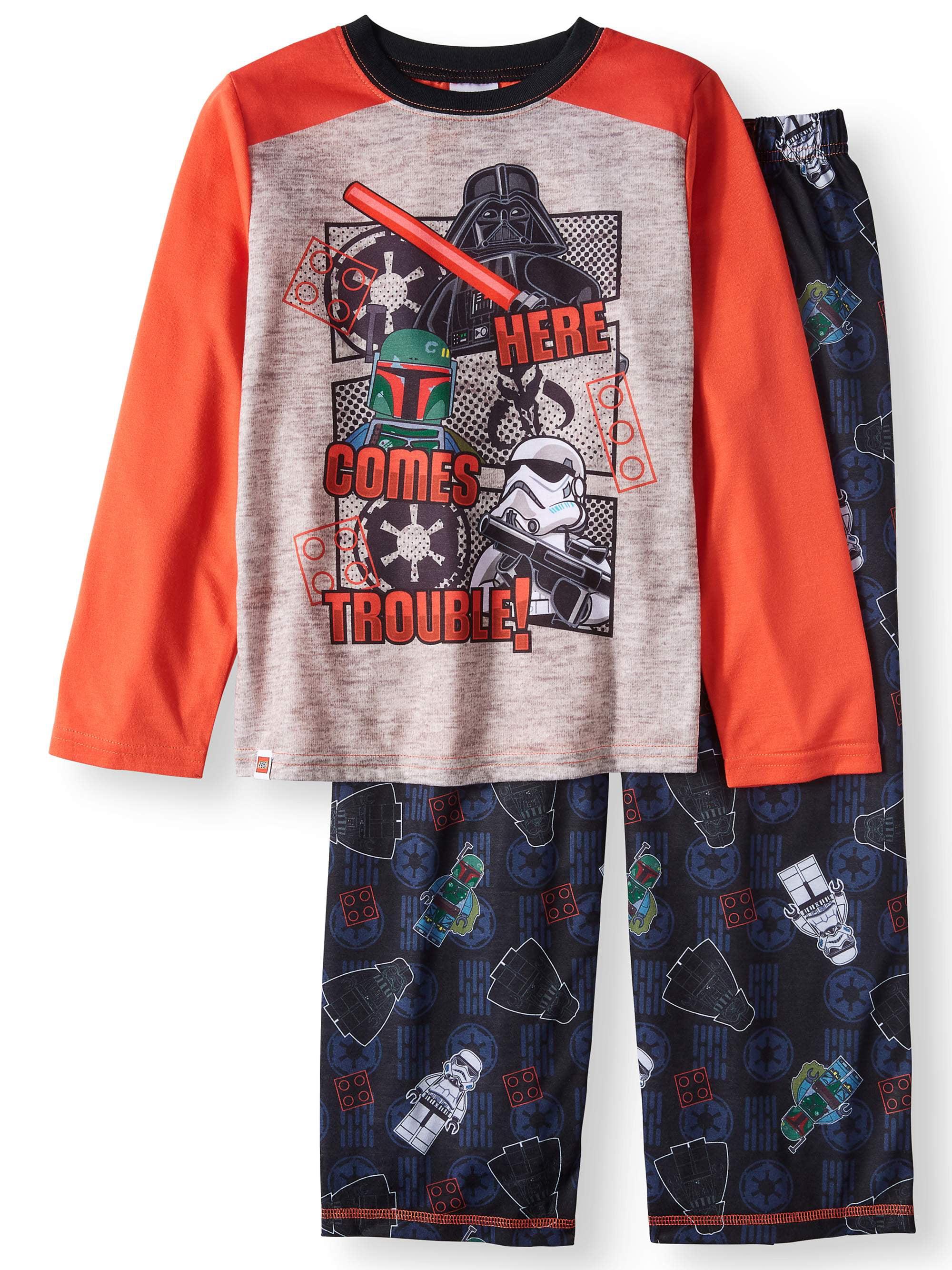 Lego Star Wars 2 Piece Pajama Sleep Set (Big Boy & Little Boy)