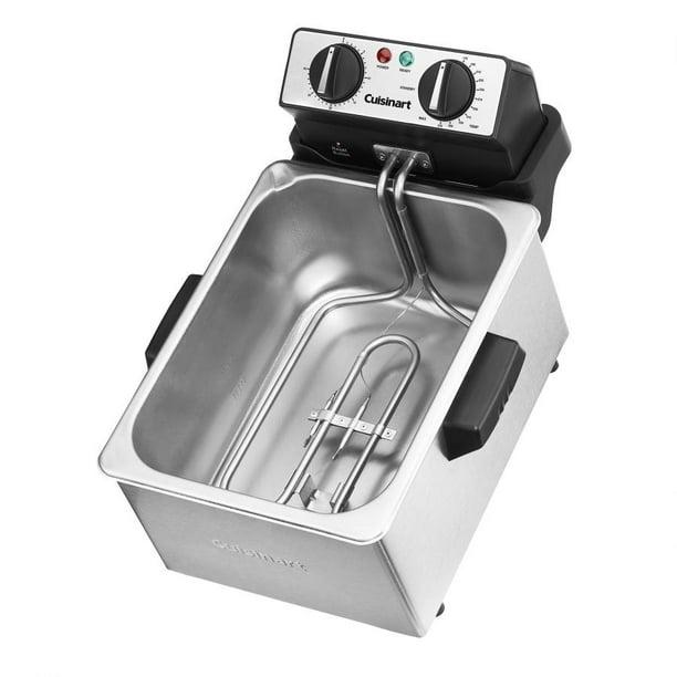 Cuisinart Specialty Appliances 4 Quart Deep Fryer Walmart Com