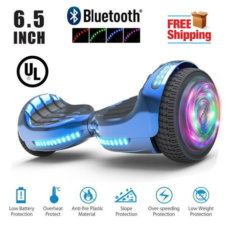 Flash Wheel UL 2272 Certified Hoverboard 6 5