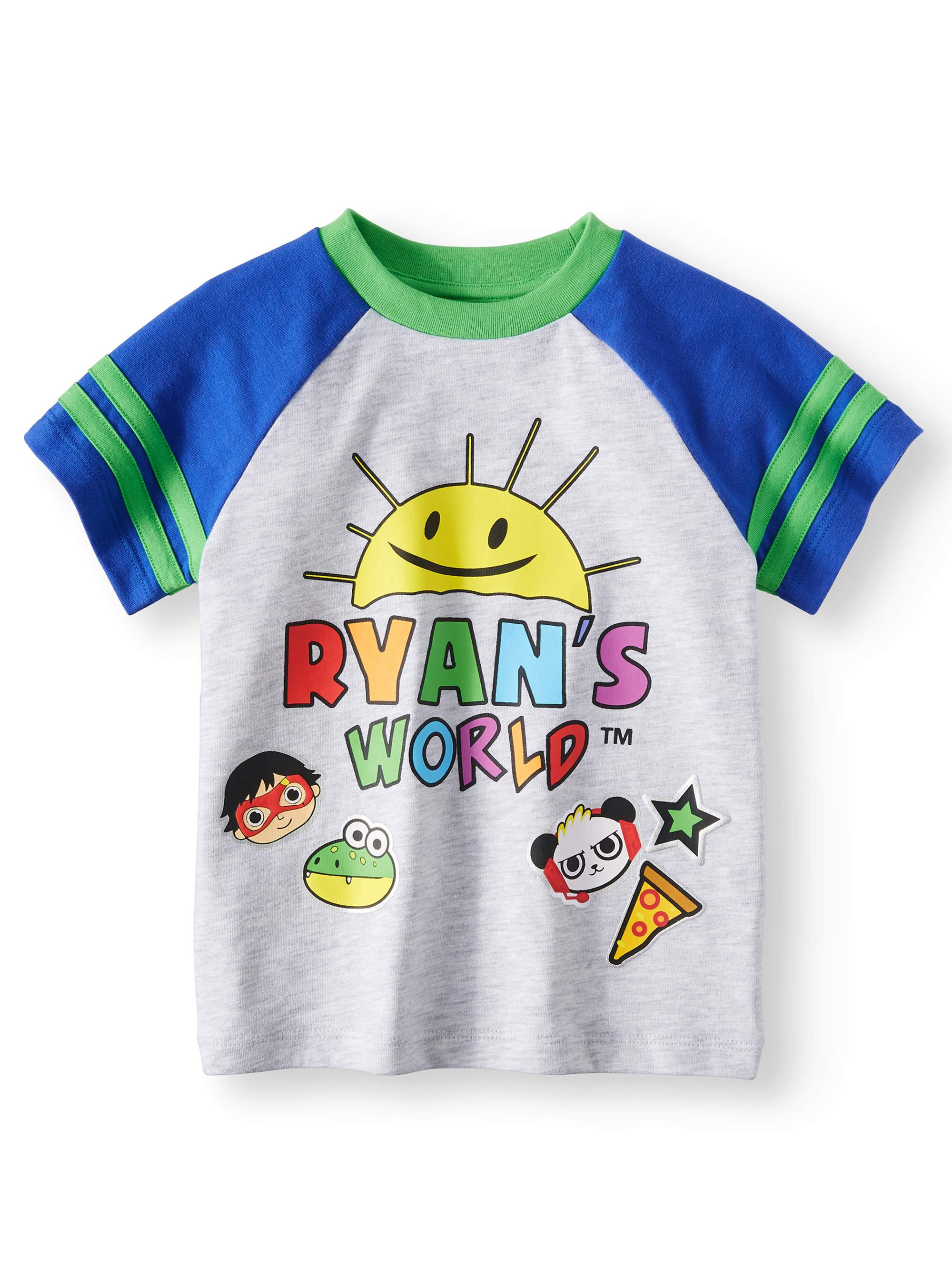 Ryan's World - Ryan's World Short Sleeve Graphic T-Shirt