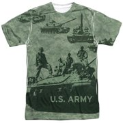 Army Tank Up Mens Sublimation Shirt