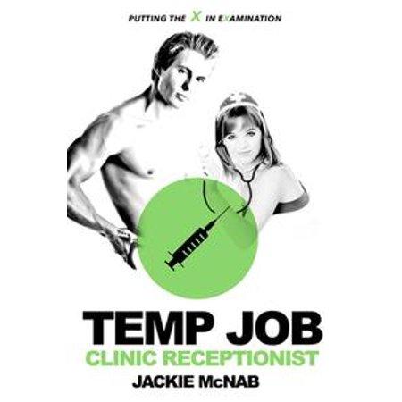 Temp Job: Clinic Receptionist - eBook - Halloween Receptionist