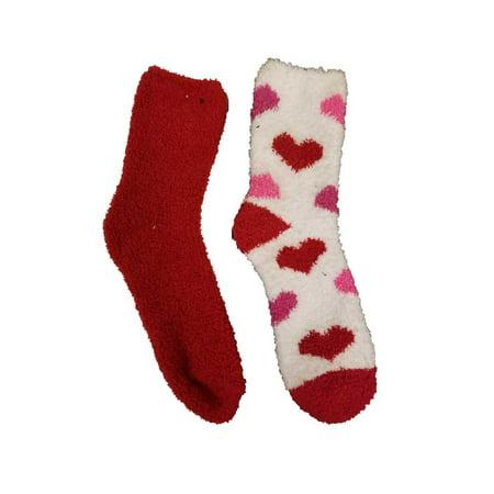 so women 2 pairs super soft slipper crew socks