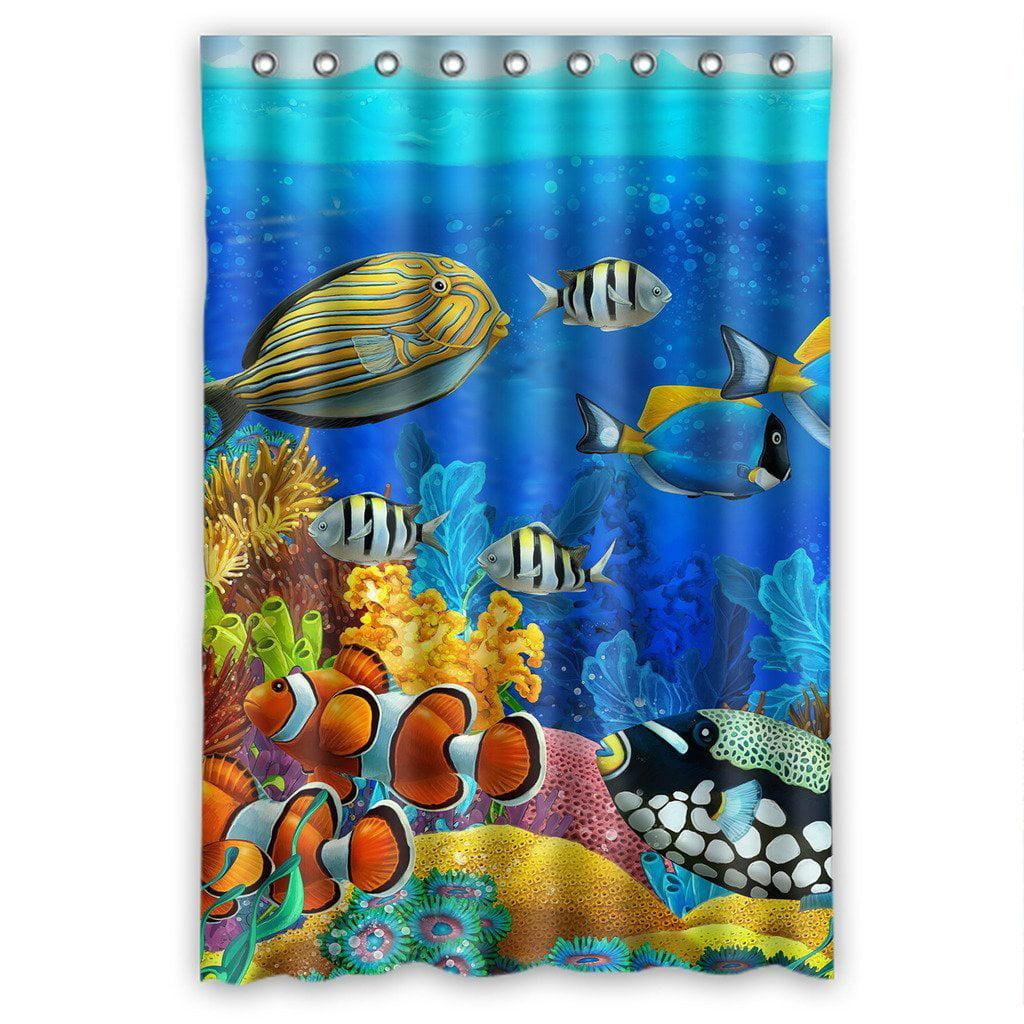 Gckg Sea Seabed Fish Corals Underwater Ocean Tropical