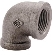 Worldwide Sourcing Pipe Elbow 90 Deg 2 In Threaded Malleable Iron