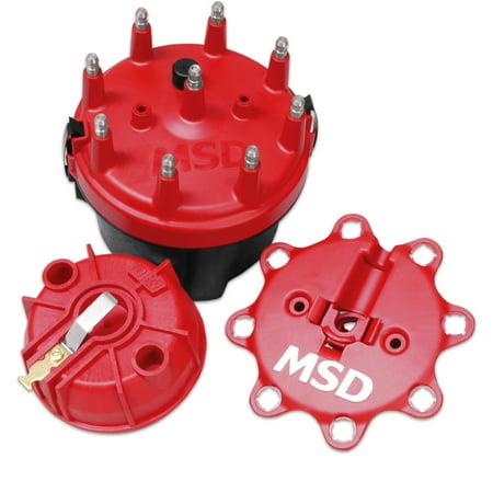MSD 8445 Cap-A-Dapt Distributor Cap and Rotor Kit - image 2 de 2