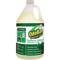 OdoBan Eucalyptus Multi-Purpose Cleaner Concentrate, Deodorizer and Disinfectant, 1 Gallon, ODO911062G4