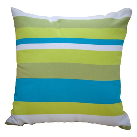Magnolia Casual Beach Boulevard Stripe Pillow