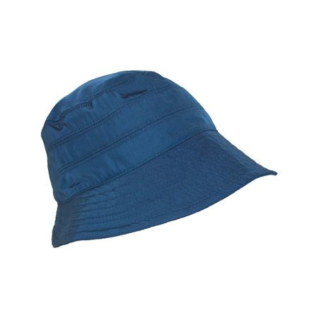 Women's Nylon Water Repellent 3 Inch Brim Lined Rain Hat (Nylon Hat)