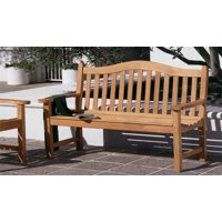 WholesaleTeak Outdoor Patio Grade-A Teak Wood Terra 5 Feet Bench #WMBHTR5