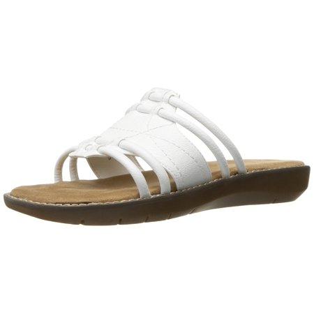 Womens Aerosoles Super Cool Sandal White