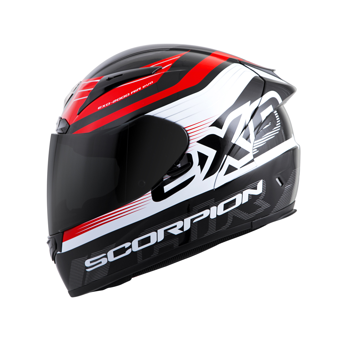 Scorpion EXO-R2000 Full Face Motorcycle Helmet Snell Certified with Clear Face Shield